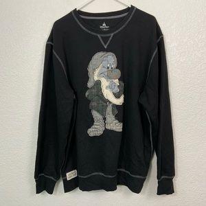 Disney Parks Grump Crewneck Sweatshirt Large